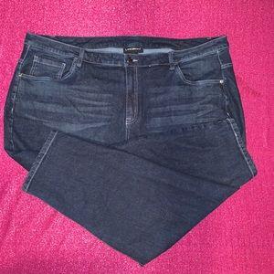 Lane Bryant Dark Wash Denim Plus Size Jeans